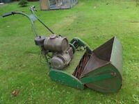 Ransomes Matador Lawn Mower 24 inch. 2 Lawnmowers for the price of 1. Spares or repair