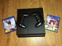 PS4 - 500gb + extra controller + Fifa 16 and Battlefront 1