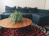IKEA FRIHETEN Corner Sofa-Bed With Storage (Dark Grey)