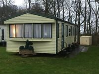 PRIVATE SALE STATIC CARAVAN AT CRESSWELL TOWERS NOTHUMBERLAND NEAR SANDY BAY WHITLEY BAY AMBLE LINKS