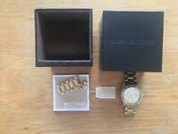 "Stunning gold Michael Kors ""boyfriend"" watch, great condition"