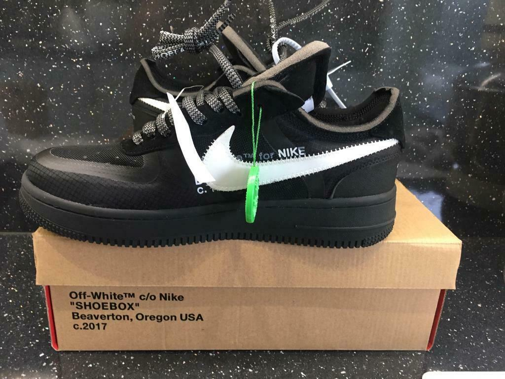 5 Off Nike 1 YeezyIn Low Force Uk White Black 2019 Air Edition 9 KTc1lFJ