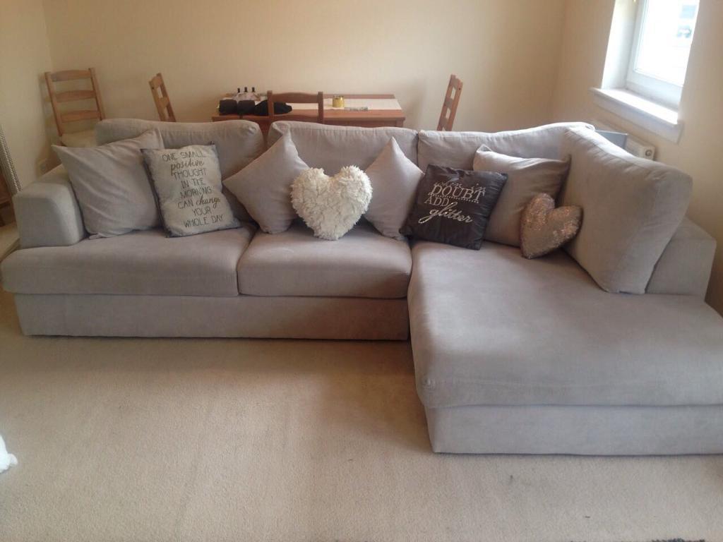Next Corner Sofa Amp Snuggle Chair In Dumbarton West