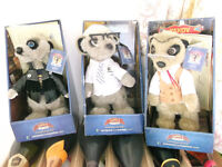 Boxed MEERKAT Toy VASSILY , SERGEI , YAKOV with Certificate or Swap !!!