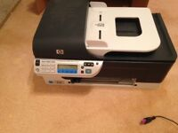 Printer scanner witless HP office jet J4680