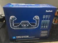 Saitek flight controls