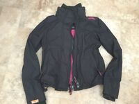 Black size small superdry windcheeter