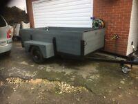Large trailer.