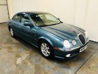 Jaguar s type 3.0 v6 in immaculate condition very low mileage 1 years mot full service history