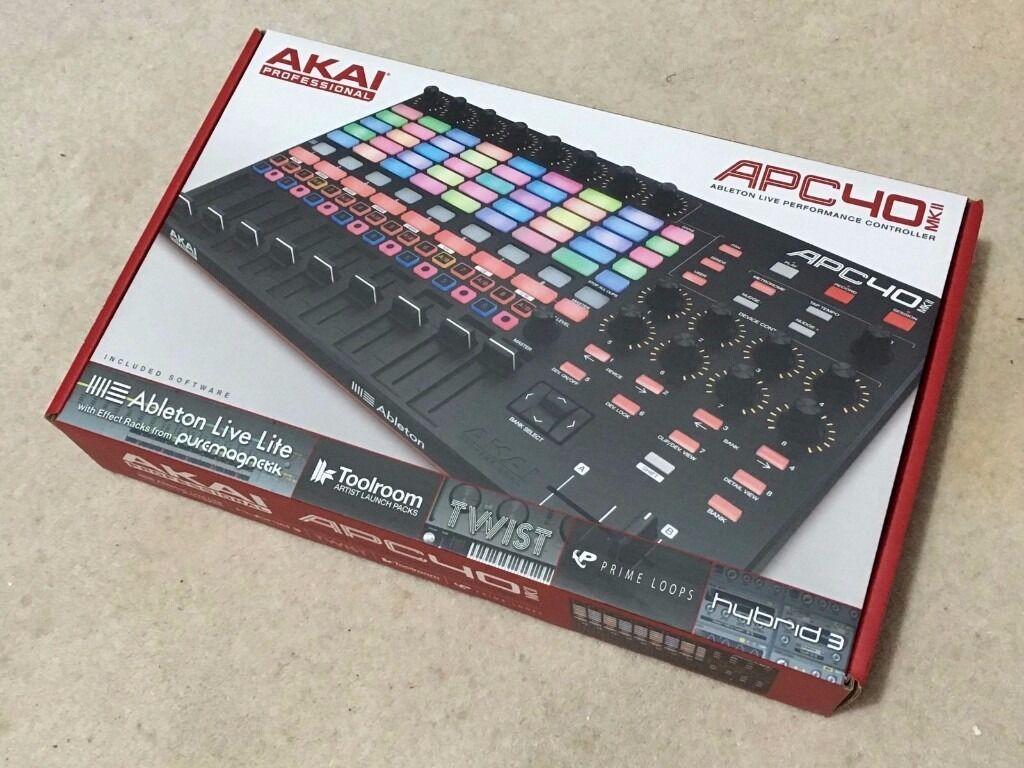 AKAI APC40 Mk2 / Mk II Ableton Live controller   in Huddersfield, West