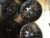 19 inch Bmw staggered alloys