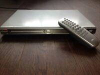 Philips DVD player and Remote Control for Sale Great Working Condition