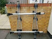 Roof rack with THULE cycle carrier
