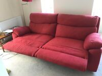 Red sofa for urgent sale
