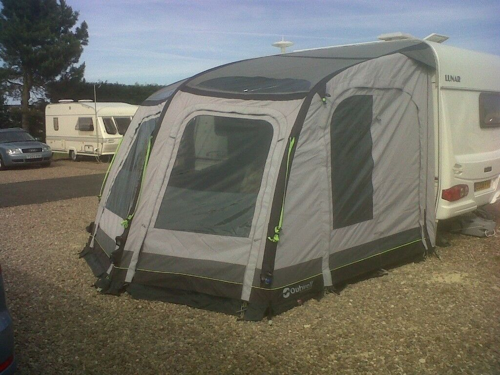 Caravan Awning Air Awnng Outwell 300sa Blow Up Awning In