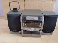 Sharp CD-C421H hi fi system