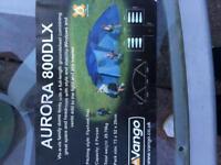 Vango Aurora 800DLX eight man tent sold
