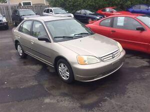 2003 Honda Civic DX-G FINANCEMENT MAISON DISPONIBLE