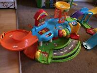 COLLECTION OF TOOT TOOT DRIVERS PLAYSETS