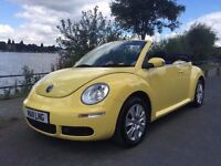 ***FINANCE AVAILABLE GOOD CREDIT BAD CREDIT NO CREDIT VW BEETLE 1.6 CONVERTIBLE***