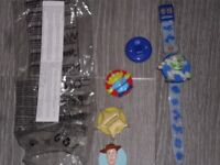 Toy Story watch with detachable heads