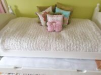White Company child single bed (including underbed)
