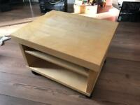 Coffee Table (On Wheels)