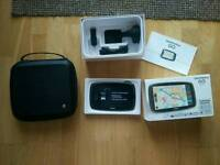 """TomTom GO 6100 6\"""" World Maps Sat Nav with Sim Card and Unlimited Data Included"""