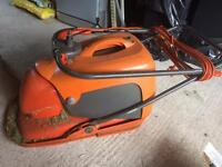 Fly mower with box