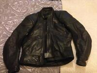 Men's two piece motorcycle leathers
