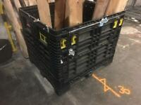 Plastic Storage Pallet Cage Container
