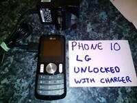 Unlocked lg basic phone
