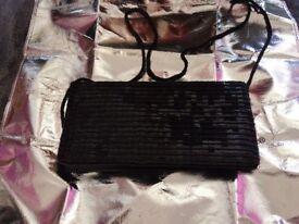 Ladies Black Coloured Handbag