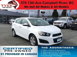 2013 Chevrolet Sonic LT Low Kms Accident Free