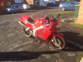 VFR 750FS motorbike