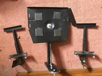 Wall bracket for CD player/2 speakers - used