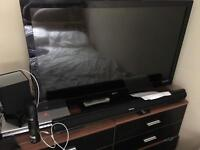 42ich tv with sound bar