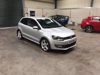 2010 Volkswagen polo sel 1.6 tdi 3dr 1 owner full mot pristine guaranteed cheapest in country