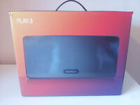 Brand new, unopened Sonos Play3 Wireless smart multi-room speaker for sale !