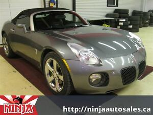 2007 Pontiac Solstice GXP Turbo Leather Convertable