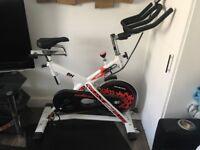 Spin Bike (nearly new)