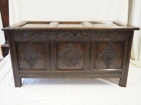 Blanket Chest Scottish Jacobean