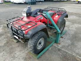 Quad atv security lock this unit can be bolted to floor two available tractor