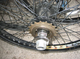 X4 BMX 20'' ALLOY WHEELS WITH OVERSIZE SPINDLES