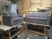 Jumbo cord fabric 3+2seater sofa Set OFFER FREE DELIVERY