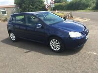 VW Golf 1.9 TDI Match 2007, Metallic Blue, 129,000 miles