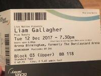 Liam Gallagher x2 GREAT SEATS Block 3