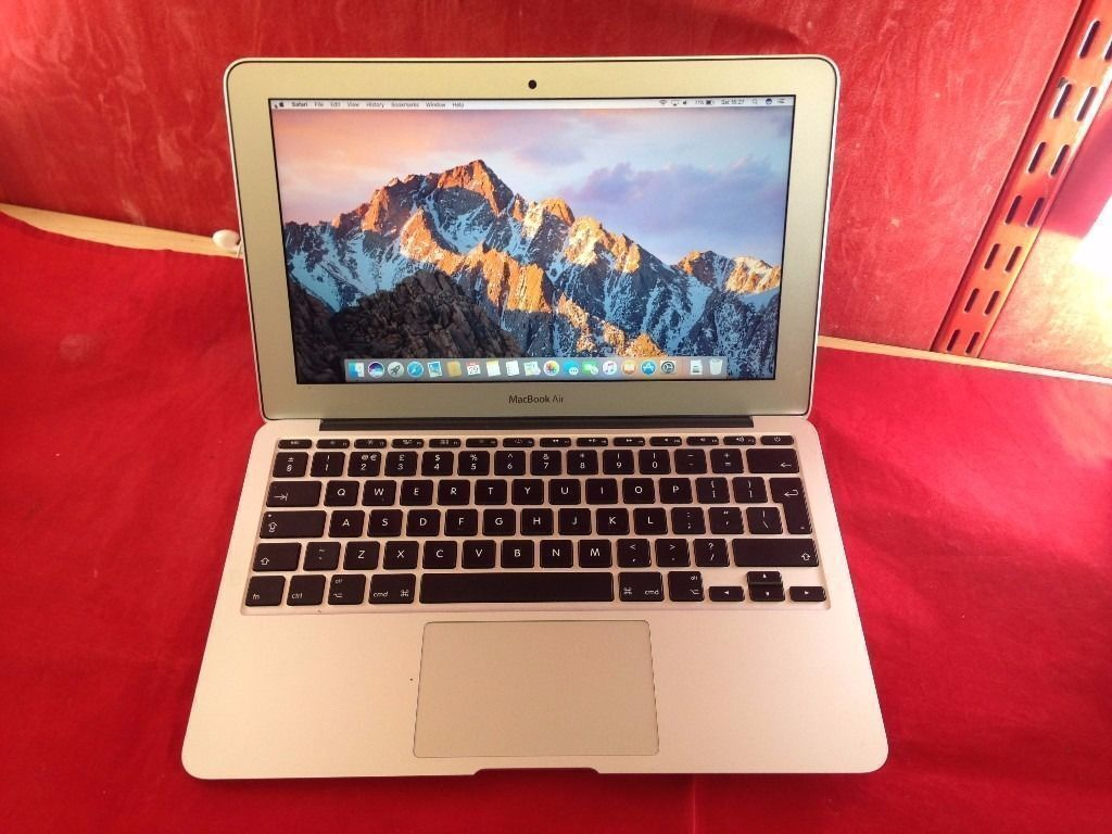 "Apple MacBook Air 11.6"" MD711B/A, 2013, 128GB SSD, i5 Proces, 4GB RAM WARRANTY, NO OFFERS L35in Walthamstow, LondonGumtree - Apple MacBook Air 11.6"" MD711B/A, 2013, 128GB SSD, i5 Proces, 4GB RAM OFFICE 2016 Condition Excellent screen, 2 3 tiny scratches. Minor signs of use around the casing. The MacBook will come with USB cable, charger adapter. Collection from..."