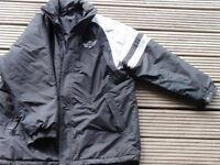 Morgan collectors jacket. XL dark grey and light grey.