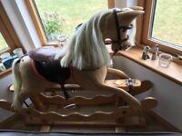 Ian Armstrong bespoke rocking horse